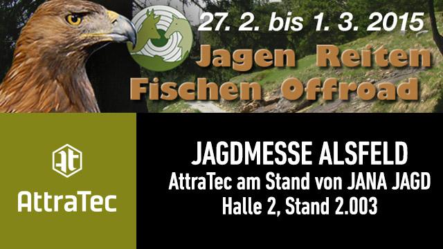 AttraTec auf der Jagdmesse in Alsfeld